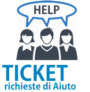 Apri un ticket di assistenza tecnica
